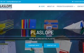 Plaslope New Website